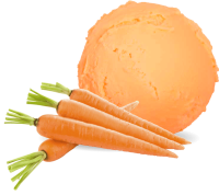 Carrots ice cream